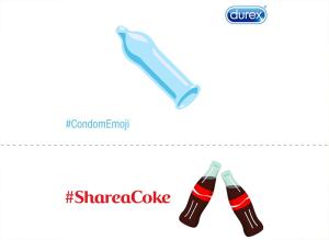 CocaCola-Durex-Hashtag-Emoji