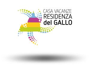 Realizzazione logo marchio per casa vacanze Roma Residenza del Gallo