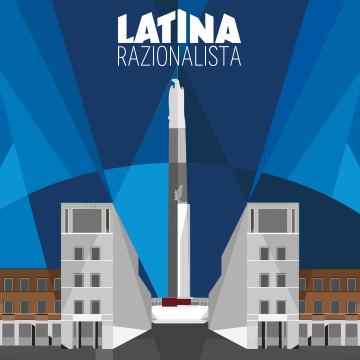Istituto-Nazionale-Assicurazioni-INA-Parco-Mussolini-Latina-Razionalista