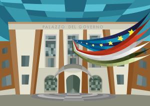 Palazzo del Governo, Piazza della Libertà