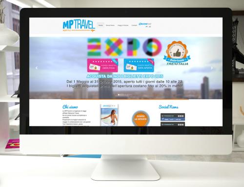 MP Travel – Realizzazione Sito Internet
