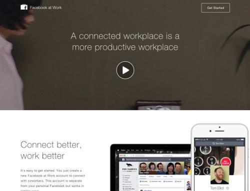 FACEBOOK AT WORK: il nuovo Social Network per le Aziende