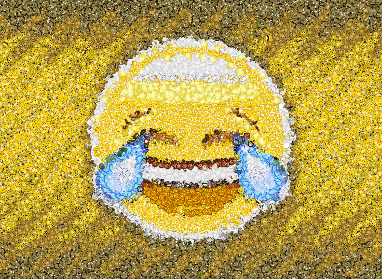 Mosaico composto di Emoji